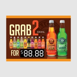 RICE'S - Deal cards for soft drinks 01